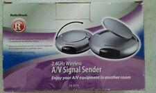 RadioShack 2.4GHZ Wireless A/V Audio Video Signal Sender Receiver Model 15-2572