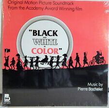 """BLACK & WHITE IN COLOR(1977 MUSIC PIERRE BACHELET) MINT SOUNDTRACK 12"""" VINYL LP"""