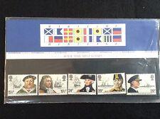 GB Royal Mail 1982 Presentation Pack #136 MARITIME
