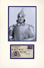 Jack Haley Tinman Wizard of Oz Amazing Signed Authentic Autographed 13x20 COA