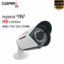 CCTV 1080P Bullet Camera 2.0MP Outdoor Surveillance 3.6mm Wide Angle 30M IR UK