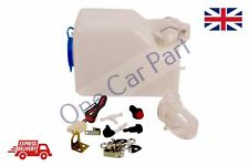 NEW KIT CAR / CLASSIC UNIVERSAL 12v windscreen washer bottle pump kit COMPLETE