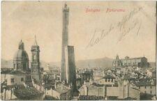 1920 Bologna - Panorama della città con le Due Torri - FP B/N VG