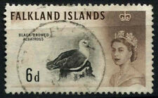 Falkland Islands 1960-6 SG#200, 6d Birds Definitive Used #D36939