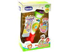 INTERACTIVE Toy MICROFONO KARAOKE CANTARE Play Per Bambini Regalo 12m+