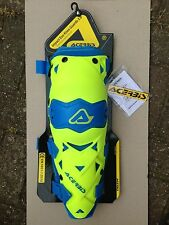 NEW  ACERBIS IMPACT EVO 3.0  HINGED KNEE GUARDS PADS  PROTECTION YELLOW / BLUE