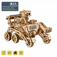 ROKR 3D Puzzle 209pcs Wooden Solar Energy Vehicle  STEM Toy for Kids Boys Teens
