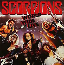 SCORPIONS CD - WORLD WIDE LIVE [REMASTERED](1997) - NEW UNOPENED - ROCK METAL