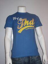 Tommy Hilfiger Denim Felix 1 [Talla M] Camiseta Hombre Camiseta Estampada Azul