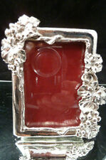 Arthur Court Pewter-Look Metal Frame, Grape, 3 X 4  HOLDS 2 X 3 PICTURE NEW MINI
