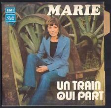 """EUROVISION 1973 Monaco MARIE """"Un train qui part"""" 1ère pochette NEUVE + Languette"""