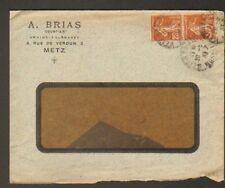 """METZ (57) PRODUITS AGRICOLE """"A. BRIAS"""" en 1933"""