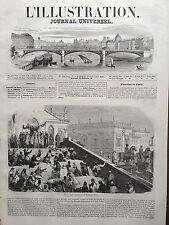 L'ILLUSTRATION 1846 N 150 FETE DE NOËL A ROME LA BENEDICTION DEL BAMBINO