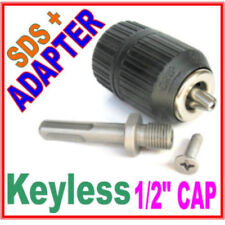 "1 pc SDS plus Adapter and 1/2"" CAP Drill Keyless Chuck sct 888"