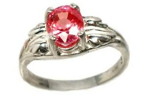 Rose Sapphire Ring 1 2/3ct Antique 19thC Ancient Celt Persia Sorcery Prophet Gem