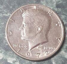 Kennedy Half Dollar, P, 1972, circulated, ungraded