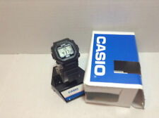 Casio F-108WH-1ACF Backlit Digital Black Resin Strap Watch new in box