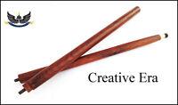 Vintage Wood Walking Stick Cane 2 Fold Only For Cane Handle (Only wooden shaft)