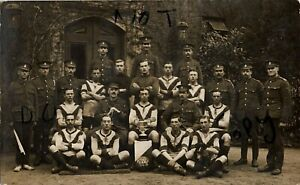 WW1 soldier 2 / 1st Home Counties Field Ambulance RAMC Football team Windsor