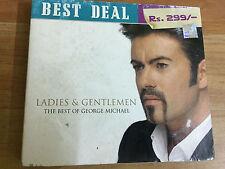 George Michael Best Deal Rs 299 Ladies &Gentlemen 2 CD 2007  RARE INDIA HOLOGRAM