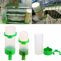 3 x Bird Feeder Water Drinker Clipper Fountain Cage Budgie Canary Finch AU