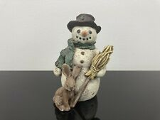 Sarah's Attic Limited Edition Figurine Snowman Jan Chilly 1991