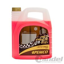 [2,72€/L] 5 Liter Pemco 912+ Kühler Frostschutz bis -40°C/ rosa/ rot/ violett