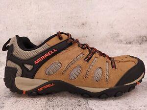 Merrell Mens Crosslander 2 Brown/Orange Hiking Shoes Size 10.5 (1765636)
