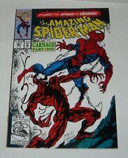 AMAZING SPIDER MAN # 361 MARVEL COMICS 1992 CARNAGE 1st APPEARANCE ORIGIN VENOM