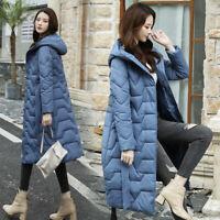 Women Winter Coat Down Jacket Ladies Hooded Jackets Long Puffer Parka Warm Coats