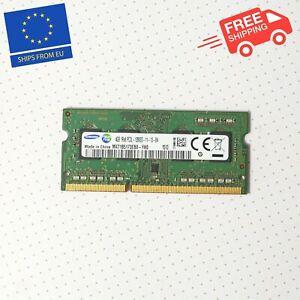 Samsung 4GB RAM Stick DDR3 SDram So-Dimm Laptop 1Rx8 Pc3L-12800S-11-13-B4