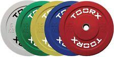 Disco Bumper Challenge 10 Kg. TOORX Sollevamento Pesi Allenamento Palestra