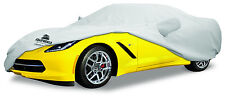 2001-2004 Chevrolet Corvette ZO6 Custom Fit Grey Cotton Plushweave Car Cover