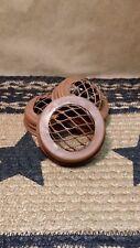 3 Rusty Frog Lids - Craft Supply, Fit Regular Standard Mouth Mason Jars, New