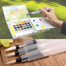 3pcs Pilot Ink Pen für Aquarell Kalligraphie Wasser Bürsten-Malerei-Werkzeug-Set