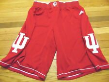ADIDAS AUTHENTIC NCAA INDIANA HOOSIERS BASKETBALL GAME SHORTS 2XL+4""