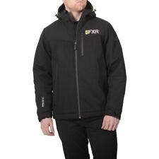 FXR Men's Vertical Pro Insulated Fleece Interior Softshell Jacket - Black