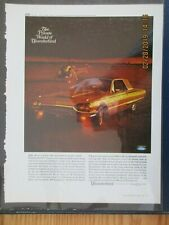 1965 Ford Thunderbird Large Color Advertisement