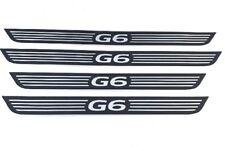 Pontiac GM G6 05-09 Sedan Door Sill Plate Kit Front & Rear Set GM Customize
