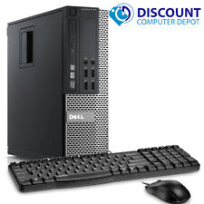 Dell Computer PC Desktop 8GB 500GB HD Intel Quad Core i5 3.1GHz Windows 10 Pro