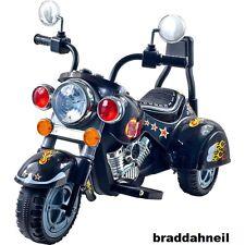 Motorcycle Bike Ride On Harley Kids Toys Car Wheels Hog Toy Boys Battery Power