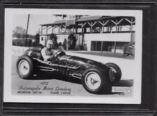 1952 INDIANAPOLIS MOTOR SPEEDWAY BELANGER SPECIAL DUANE CARTER PHOTO EX/MT