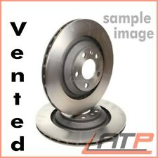 2X BRAKE DISC FRONT VENTILATED Ø 300 FORD MONDEO MK 3 III 2000-07