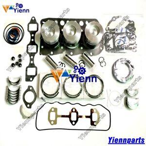 3TN75-RJ 3TN75L 3TN75 Overhaul Rebuild Kit For Yanmar Engine JOHN DEERE 855 856