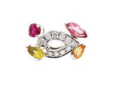 Cartier Gold, mehrfarbig Ring mit Diamanten