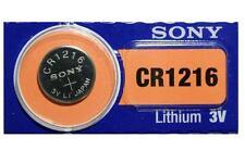 1 X PILA BOTON SONY BATERIA CR1216 DE LITIO 3V LITHIUM BATTERY
