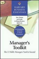 Manager's Toolkit: The 13 Skills Managers Need to Succeed (Harvard Business Esse