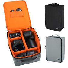 Large Waterproof DSLR Camera Bag Insert Handbag Organizer Carry Case Partition