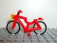 LEGO Fahrrad Bicycle Bike 4719 rot red City Weehl Rad
