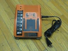 RIDGID RAPID MAX 9.6V to 18V Battery Charger, Charger#140276003